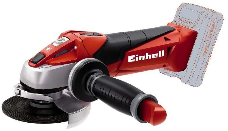 Einhell TE-AG 18 Li - Solo akkumulátoros sarokcsiszoló 115mm (akku és töltő nélkül) (4431110) TE-AG 18 Li - Solo